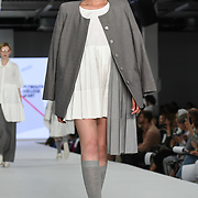 Designer Lan Chen at the Best of Graduate Fashion Week showcases at the Graduate Fashion Week 2018, June 6 2018 at Truman Brewery, London, UK.