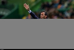 February 14, 2019 - Na - Lisbon, 02/14/2019 - Sporting Clube de Portugal received the Villarreal Club de Fútbol tonight at the Estádio de Alvalade in the first leg of the 16-game Europa League 2018/2019. Javier Calleja  (Credit Image: © Atlantico Press via ZUMA Wire)