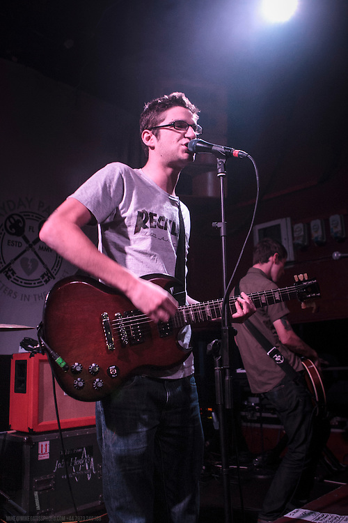 Man Overboard performing live at The Sugarmill, Stoke-on-Trent, 2014-01-24