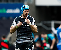 Justin Tipuric of Ospreys<br /> <br /> Photographer Simon King/Replay Images<br /> <br /> Guinness PRO14 Round 18 - Ospreys v Dragons - Saturday 23rd March 2019 - Liberty Stadium - Swansea<br /> <br /> World Copyright © Replay Images . All rights reserved. info@replayimages.co.uk - http://replayimages.co.uk