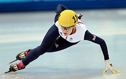 File photo dated 18-02-2014 of Great Britain's Elise Christie.