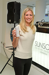 HOLLY BRANSON at the launch of SunSoul - a new energy drink held at Rook & Raven Gallery, 7 Rathbone Place, London on 14th June 2016.