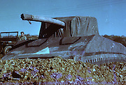 The Ghost Army That Duped The Nazis<br /> <br /> Deception and decoy are part of war strategy. During the Second World War the Allied forces employed dozens of tricks to confuse, mislead or intimidate the German army — from dropping dummy paratroppers to dropping aluminum tinfoil, from faking the death of a fictitious Major William Martin to completely covering up a military aircraft plant. One such deceptive operation that came to light only a few years ago is the so called Ghost Army.<br /> <br /> The Ghost Army was a 1,100-man unit officially known as the 23rd Headquarters Special Troops whose goals were to impersonate vastly large U.S. Army units to deceive the enemy. The men that made up this secretive unit weren't your regular soldiers. They were artists, illustrators and sound technicians handpicked for the job from New York and Philadelphia art schools. They didn't carry M1s and Thompsons, but large inflatable tanks and rubber aircrafts, powerful amplifiers and speakers to mimic the noise created by a large gathering troop and radio equipment to transmit phony messages.<br /> <br /> Photo Shows: Color shot of an inflatable Sherman tank used by The Ghost Army. <br /> <br /> The Ghost Army of World War II<br /> How One Top-Secret Unit Deceived the Enemy with Inflatable Tanks, Sound Effects, and Other Audacious Fakery<br /> Rick Beyer and Elizabeth Sayles<br /> Published by Princeton Architectural Press<br /> £25.00<br /> ©Exclusivepix Media