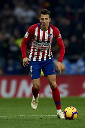 November 24, 2018 - Madrid, Madrid, Spain - Santiago Arias of Atletico Madrid controls the ball during the week 13 of La Liga match between Atletico Madrid and FC Barcelona at Wanda Metropolitano Stadium in Valencia, Spain on November 24, 2018. (Credit Image: © Jose Breton/NurPhoto via ZUMA Press)