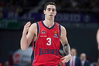 Baskonia Vitoria Luca Vildoza during Turkish Airlines Euroleague match between Real Madrid and Baskonia Vitoria at Wizink Center in Madrid, Spain. January 17, 2018. (ALTERPHOTOS/Borja B.Hojas)