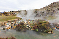 At the junction of the Boiling River and the Gardner River near Mammoth Hot Springs in Yellowstone<br /> <br /> ©2015, Sean Phillips<br /> http://www.RiverwoodPhotography.com