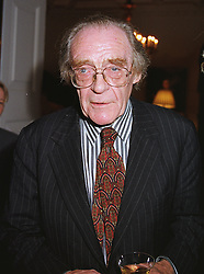 SIR JOHN MADDOX at a party in London on 29th June 1999.MTX 52