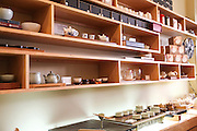 Tea shop interior. China Town, San Francisco, California, USA