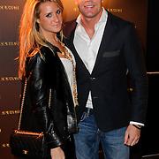 NLD/Amsterdam/20120128 - Modeshow Supertrash, Chantal Bles en partner Robert Doornbos