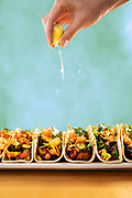 Lime squeeze tacos photo by Brandon Alms Photography
