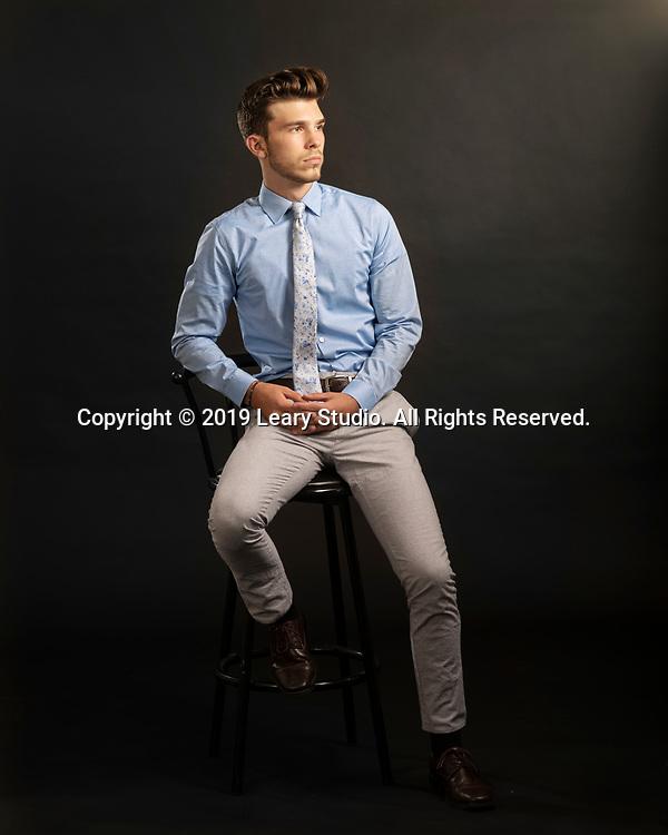 Justin Stanek Senior Portrait