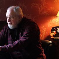 Poet Morton Marcus<br /> Photo by Shmuel Thaler <br /> shmuel_thaler@yahoo.com www.shmuelthaler.com