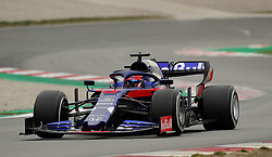 Toro Rosso Daniil Kvyat during day three of pre-season testing at the Circuit de Barcelona-Catalunya.