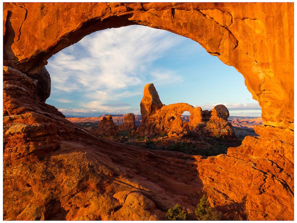 Zion National Park, UT 10/30/2015<br /> Turret Arch<br /> Alex Jones / www.alexjonesphoto.com