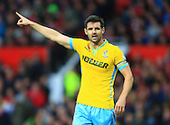 Scott Dann of Crystal Palace - Manchester United vs. Crystal Palace - Barclay's Premier League - Old Trafford - Manchester - 08/11/2014 Pic Philip Oldham/Sportimage