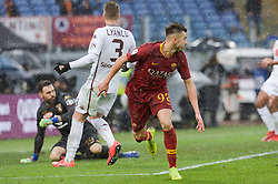 January 19, 2019 - Rome, Italy - Stephan El Shaarawy celebrates after scoring goal 3-2 during the Italian Serie A football match between A.S. Roma and F.C. Torino at the Olympic Stadium in Rome, on january 19, 2019. (Credit Image: © Silvia Lore/NurPhoto via ZUMA Press)