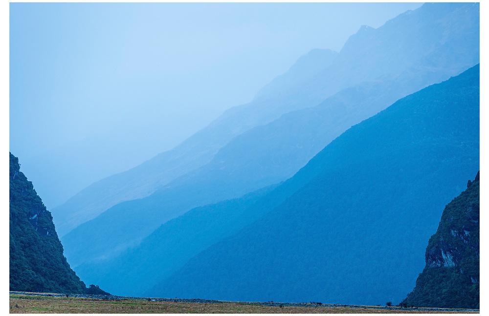 Matukituki Valley, Wanaka, Otago.