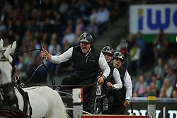 Chardon, Ijsbrand (NED), <br /> Stuttgart - German Masters 2015<br /> Fahren Weltcup<br /> www.sportfotos-lafrentz.de