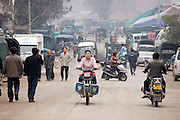 Market day in the town of Baisha, near Guilin, China