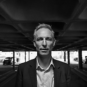 Labour leader Jim Murphy in The Avenue shopping mall in Newton Mearns.  Picture Robert Perry 30th April 2015
