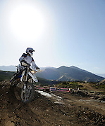 BMW motorcycle in competition at 2009 Rawhyde Adventure Rider Challenge