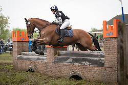Poelmans Lore, BEL, Hermes vh Strateneinde<br /> LRV Nationale finale AVEVE Eventing Cup voor Paarden - Minderhout 2018<br /> © Hippo Foto - Dirk Caremans<br /> 29/04/2018