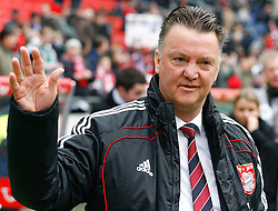 05.0305.03.2011, AWD Arena, Hannover, GER, 1.FBL, Hannover 96 vs FC Bayern Muenchen, im Bild Louis van Gaal (Trainer Muenchen).EXPA Pictures © 2011, PhotoCredit: EXPA/ nph/  Schrader       ****** out of GER / SWE / CRO  / BEL ******