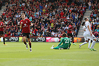 Football - 2021 / 2022 EFL Cup - Round 1 -AFC Bournemouth vs. MK Dons - <br /> <br /> Bournemouth's David Brooks celebrates scoring his second and Bournemouths fifth during the EFL cup match at the Vitality Stadium (Dean Court) Bournemouth <br /> <br /> COLORSPORT/Shaun Boggust