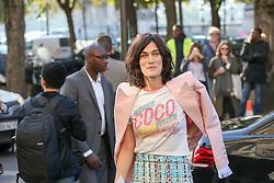 Clotilde Hesme bei der Chanel Modenschau während der Paris Fashion Week / 041016<br /> <br /> ***Chanel fashion show as part of Paris Fashion Week on october 04, 2016 in Paris***