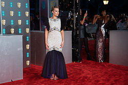 Margot Robbie attending the 72nd British Academy Film Awards, Arrivals, Royal Albert Hall, London. Picture date: Sunday February 10th, 2019. Photo credit should read: Matt Crossick/ EMPICS Entertainment.