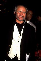 June 01, 1992; Los Angeles, CA, USA; Fashion Designer GIANNI VERSACE.  (Credit Image: © Jerzy Dabrowski/ZUMAPRESS.com)