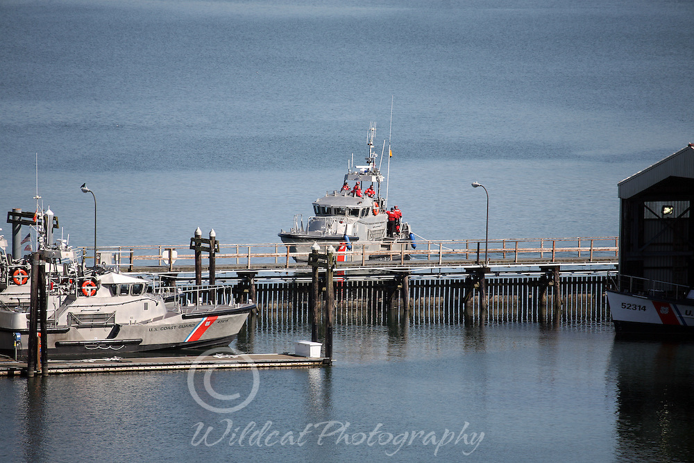 Coast Guard at Cape Disappointment