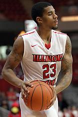 Deontae Hawkins Illinois State Redbird basketball photos
