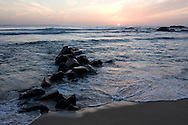 Fisherman in Sri Lanka at sunset..NOT FOR COMMERCIAL USE UNLESS PRIOR AGREED WITH PHOTOGRAPHER. (Contact Christina Sjogren at email address : cs@christinasjogren.com )