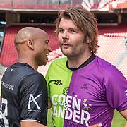 NLD/Amsterdam/20180503- Coen en Sander Live vanuit Johan Cruijff Arena, Humberto Tan en Sander lantinga
