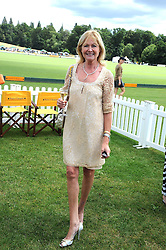 DEBBIE MOORE at the 2008 Veuve Clicquot Gold Cup polo final at Cowdray Park Polo Club, Midhurst, West Sussex on 20th July 2008.<br /> <br /> NON EXCLUSIVE - WORLD RIGHTS