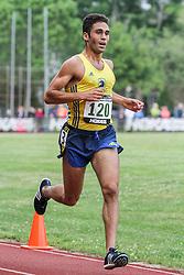 5000 meters, men, Adrian Martinez Track Classic 2016, Julian Saad, BAA adidas