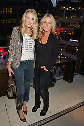 Left to right, DONNA AIR and MEG MATTHEWS at the launch of Broadgate Circle, City of London on 9th June 2015.