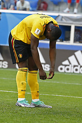 July 14, 2018 - Saint Petersbourg, Russie - SAINT PETERSBURG, RUSSIA - JULY 14 : Romelu Lukaku forward of Belgiumduring the FIFA 2018 World Cup Russia Play-off for third place match between Belgium and England at the Saint Petersburg Stadium on July 14, 2018 in Saint Petersburg, Russia, 14/07/18 (Credit Image: © Panoramic via ZUMA Press)