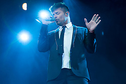 © Licensed to London News Pictures. 22/09/2016. RICKY MARTIN performs in concert in aid of Autism Rocks at the Hammersmith Apollo to raise awareness and funds into research into autism.  London, UK. Photo credit: Ray Tang/LNP