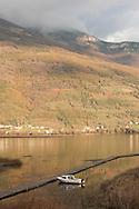 View of Visitor mountain and Lake Plav from Hotel Kula Damjanova, Plav, Montenegro. © Rudolf Abraham