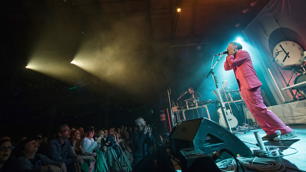 The Divine Comedy in concert at The Old Fruitmarket, Glasgow, UK, October 10th 2019