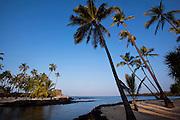 Puuhonua O Hōnaunau National Historical Park, City of Refuge, Island of Hawaii