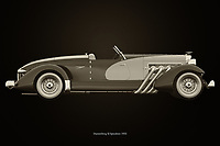 Duesenberg SJ Speedster 1933<br /> The Duesenberg SJ Speedster 1933 is a very exclusive car that just didn't sell well because of its price tag.<br /> Here a black and white version of the Duesenberg SJ Speedster 1933. –<br /> <br /> BUY THIS PRINT AT<br /> <br /> FINE ART AMERICA<br /> ENGLISH<br /> https://janke.pixels.com/featured/duesenberg-sj-speedster-1933-black-and-white-jan-keteleer.html<br /> <br /> WADM / OH MY PRINTS<br /> DUTCH / FRENCH / GERMAN<br /> https://www.werkaandemuur.nl/nl/shopwerk/Duesenberg-SJ-Speedster-1933/743018/132?mediumId=11&size=75x50<br /> <br /> -