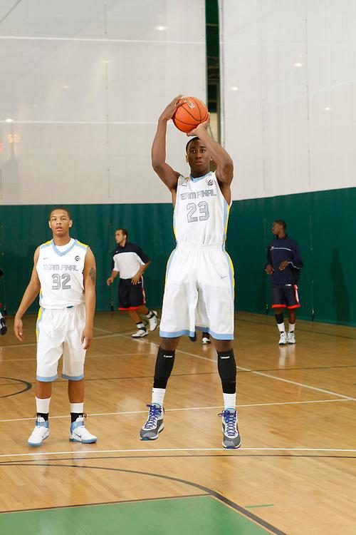 April 9, 2011 - Hampton, VA. USA; Rondae Jefferson participates in the 2011 Elite Youth Basketball League at the Boo Williams Sports Complex. Photo/Andrew Shurtleff