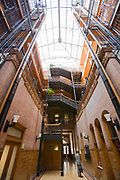 "Bradbury Building (from the movie ""Bladerunner""), Broadway, Dowtown Los Angeles, California (LA)"