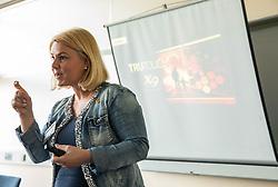 Katarina Dzukelic Dervinar, Podjetniski zajtrk skupine BNI Mostovi, on June 5, 2019 in GZS, Ljubljana, Slovenia. Photo by Vid Ponikvar / Sportida