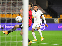 Football - 2021 UEFA European Under-21 Championships - Qualifying - Group 3 - England vs Albania - Molyneux<br /> <br /> James Justin of England scores goal no 2<br /> <br /> COLORSPORT/ANDREW COWIE