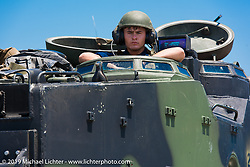 Visit to Camp Lejeune Marine base in NC before the Smokeout 2015. USA. June 17, 2015.  Photography ©2015 Michael Lichter.