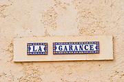 Domaine de la Garance. Pezenas region. Languedoc. France. Europe.